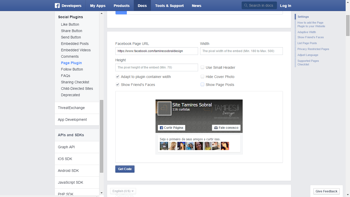 Como instalar o like box do facebook nova vers o for O architecture facebook