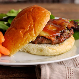 coffee+rubbed+burgers Coffee Rubbed Cheeseburgers with Texas Barbeque Sauce