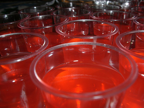 ... are two recipes! Cosmo Jello Shot and Cinnamon Cherry Bomb Jello Shot