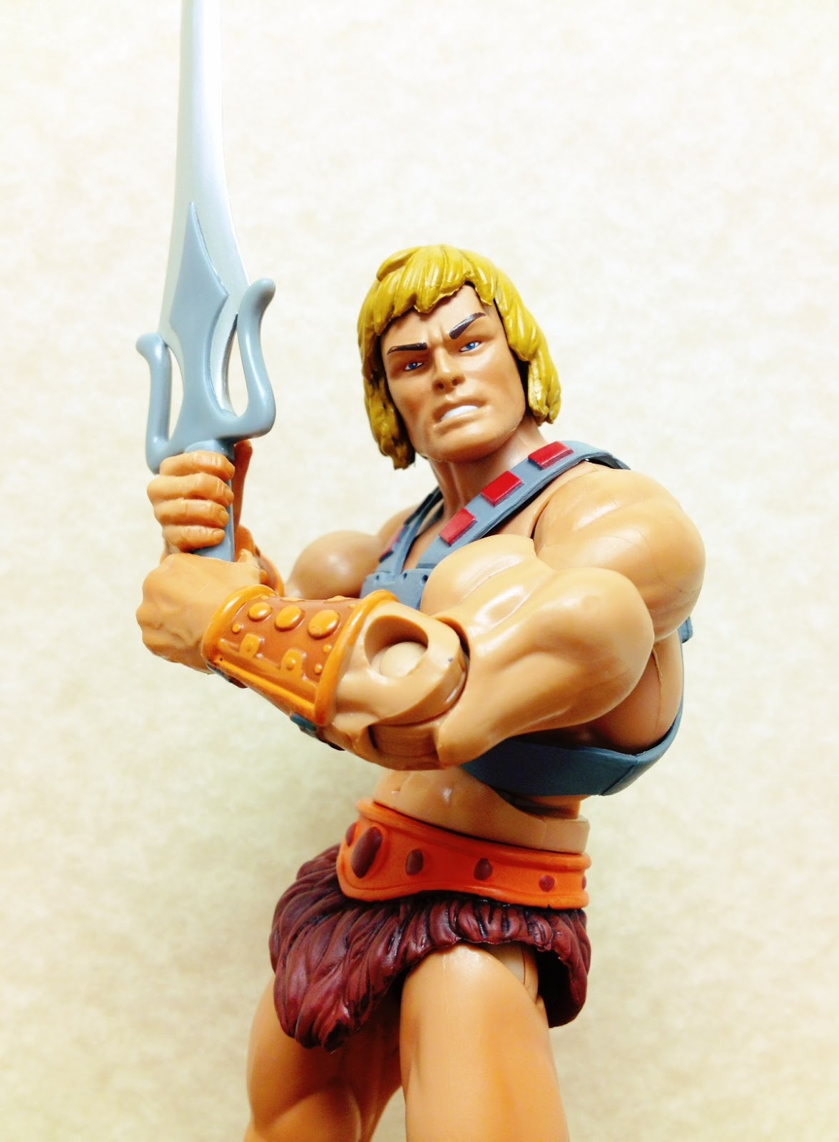 Heman Action Figure: Combo's Action Figure Collection: He-Man (Masters Of The