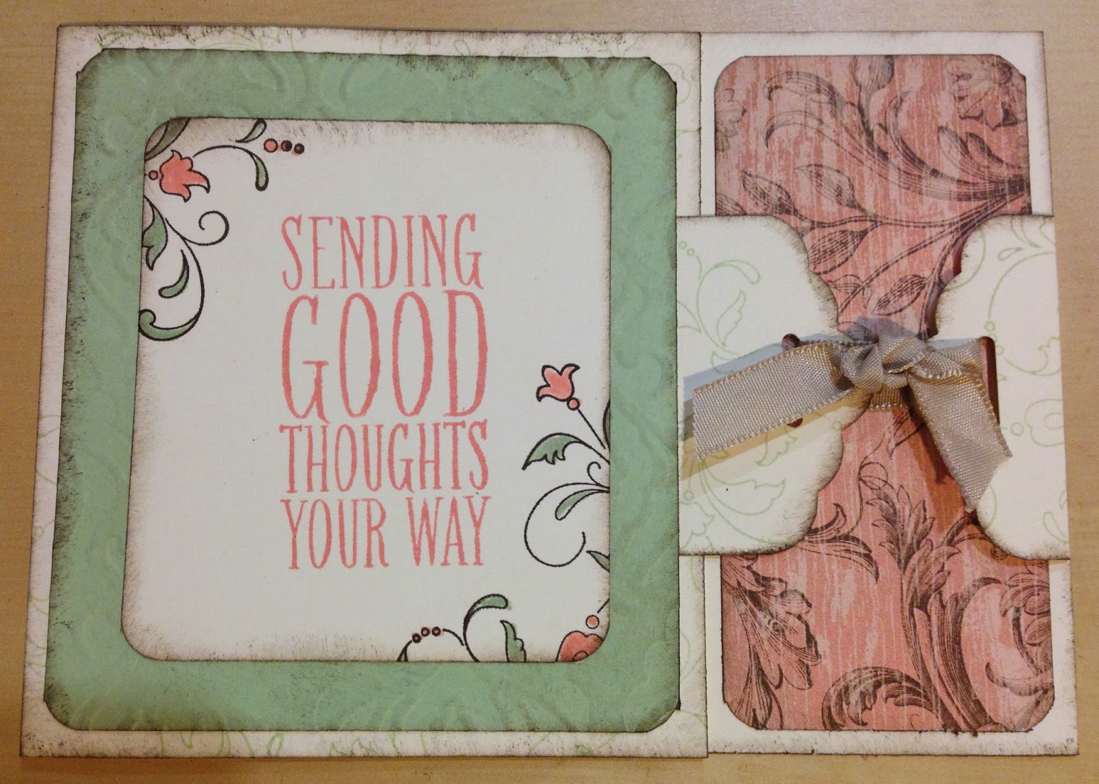 sending good thoughts your way - from the perfect pennants stamp set