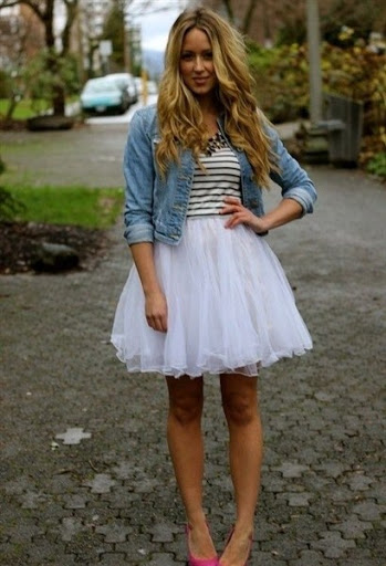 top tulle skirts trends for casual fashion Ideas