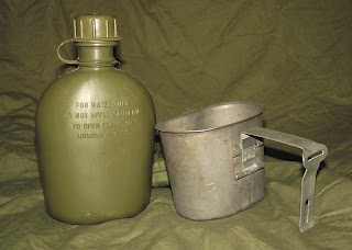 MLCE 1 Quart Canteen, Cup & Cover