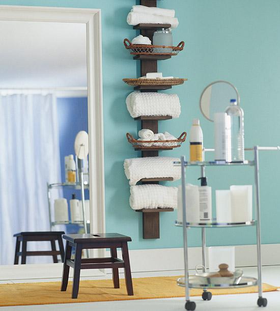 Lakberendezés szívvel-lélekkel: Tárolás a fürdőszobában