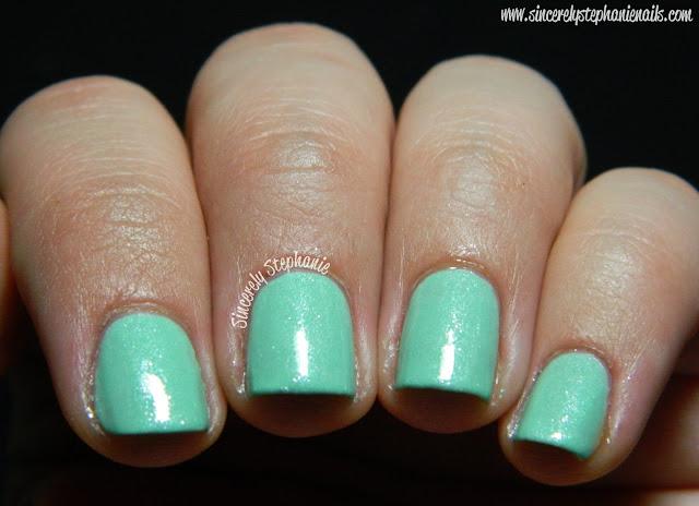 etoile polish Fizzy Cucumber