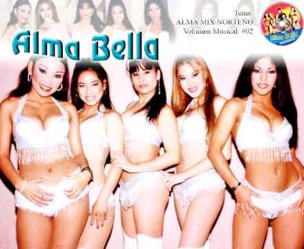 Alma Bella en sus inicios