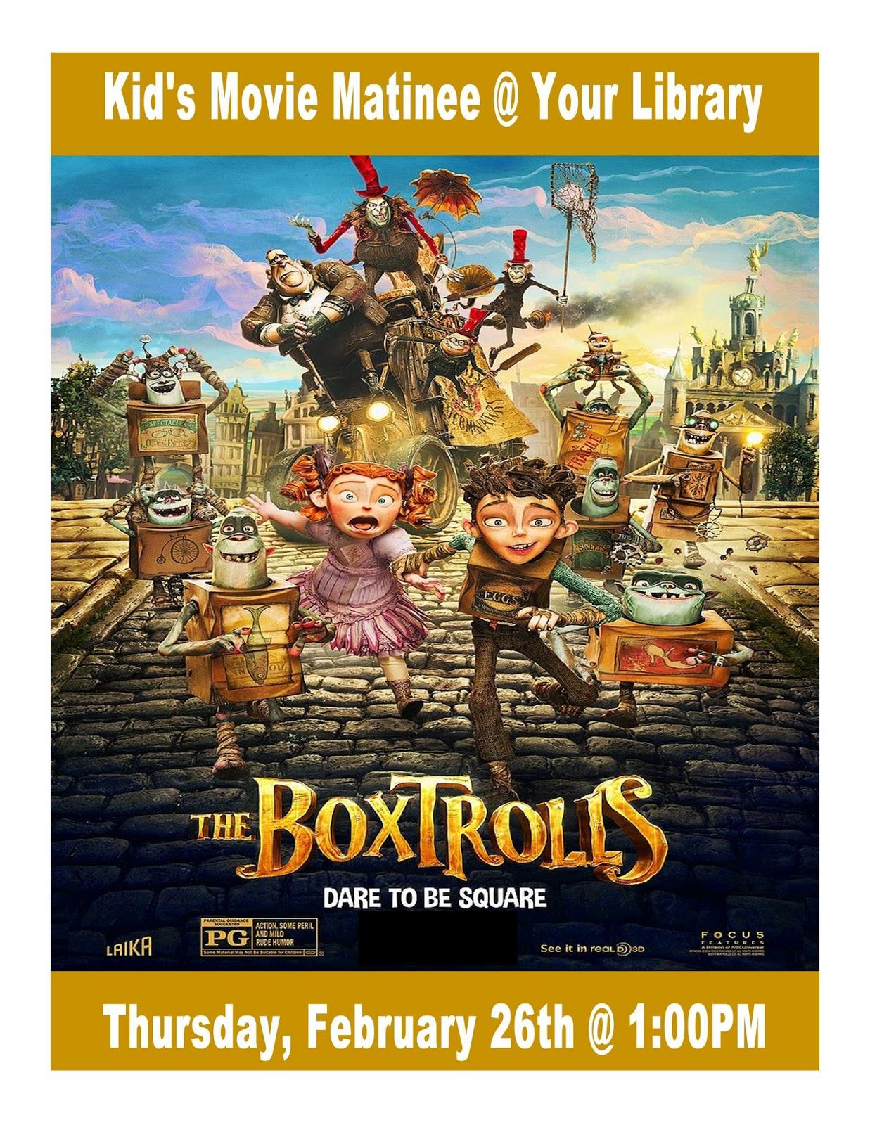 Box Trolls movie poster
