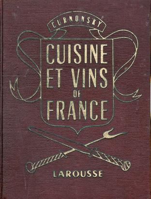 Libros de cocina y gastronom a cuisine et vins de france for Cuisine et vins de france