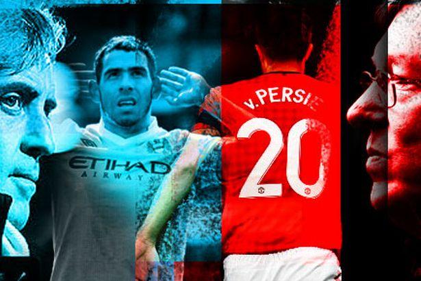 Foto (Derby Manchester) Manchester City vs Manchester United Terbaru