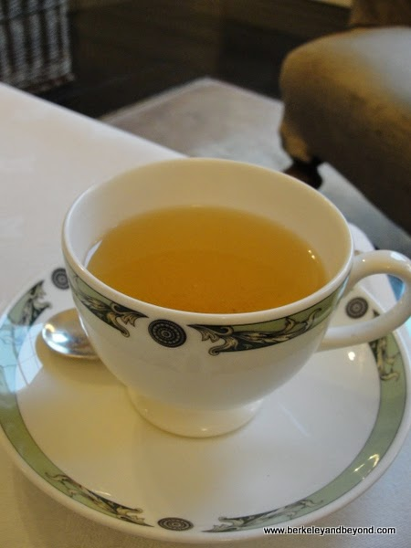 tea at The Merrion, in Dublin, Ireland