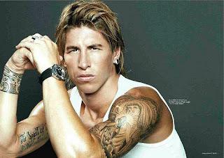 Football players tattoo