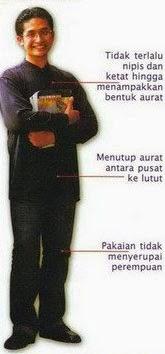 Adab berpakaian dalam islam untuk laki-laki