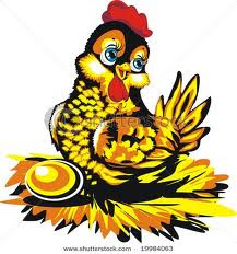Contoh Narrative Text - The Hen Which Laid The Golden Eggs