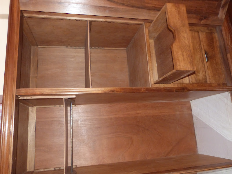Renovando interior de armario for Forrar interior armario