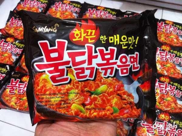 Samyang Haram - Produk Mie Instan asal Korea Selatan