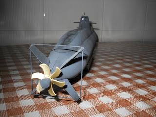 revell 1:144 new german submarine 212