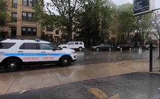 Intimidare? Poliția din Chicago a blocat parcarea folosită de Biserica Penticostală Elim (FOTO)