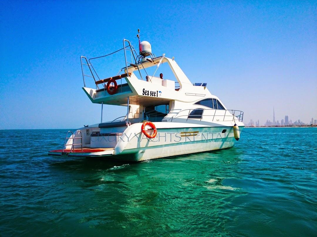 تاجير يخوت ورحلات بحرية في دبي
