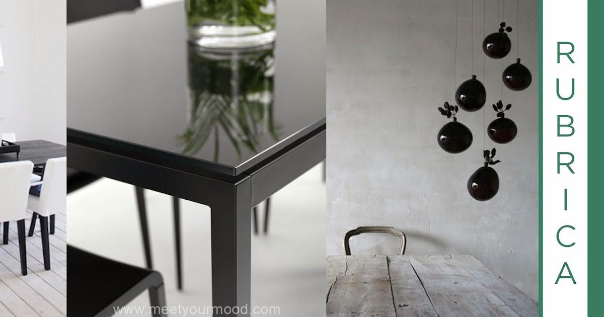 Tavolo in vetro nero satinato esiste davvero meetyourmood - Tavolo in vetro nero ...