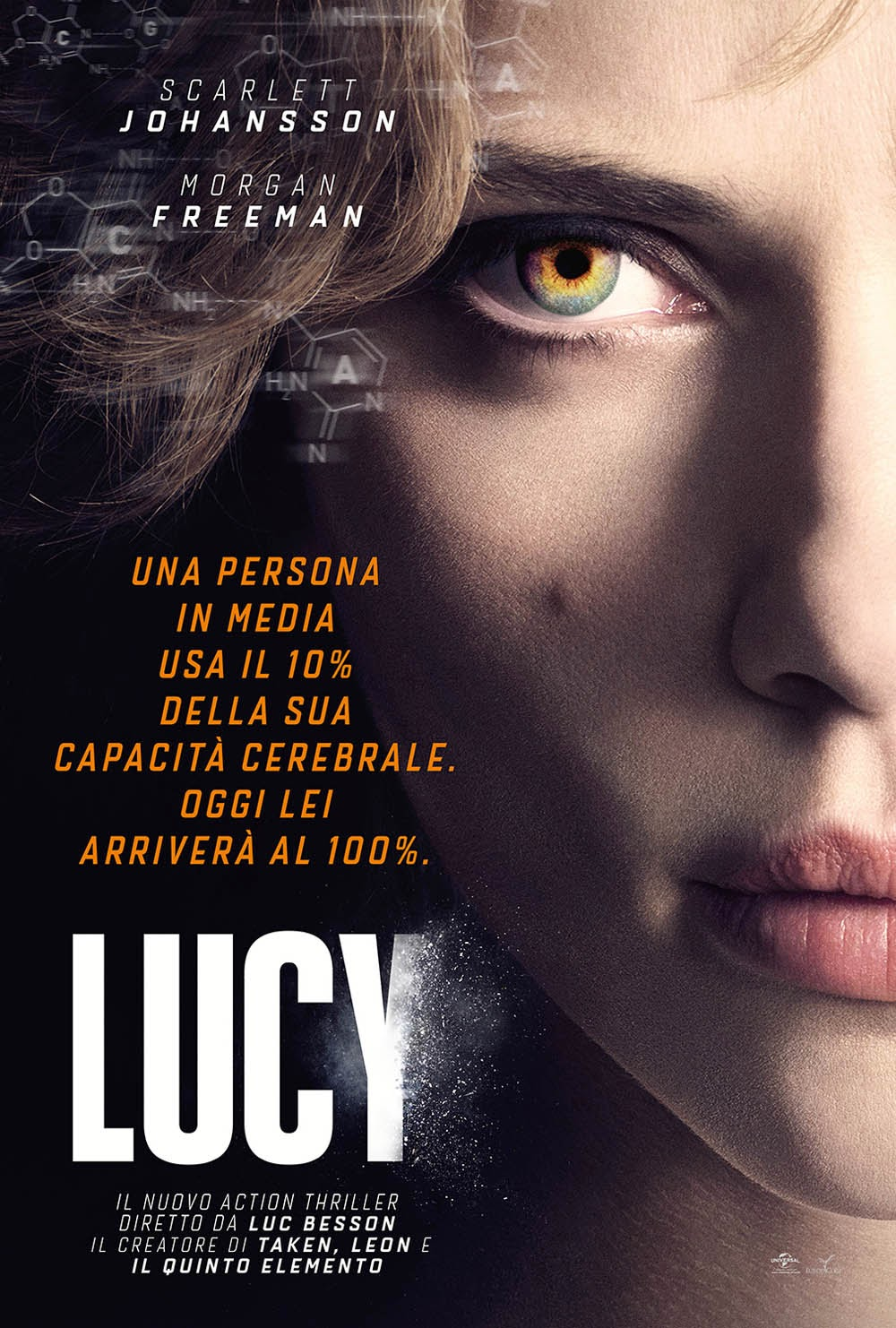 Lucy Besson Recensione poster
