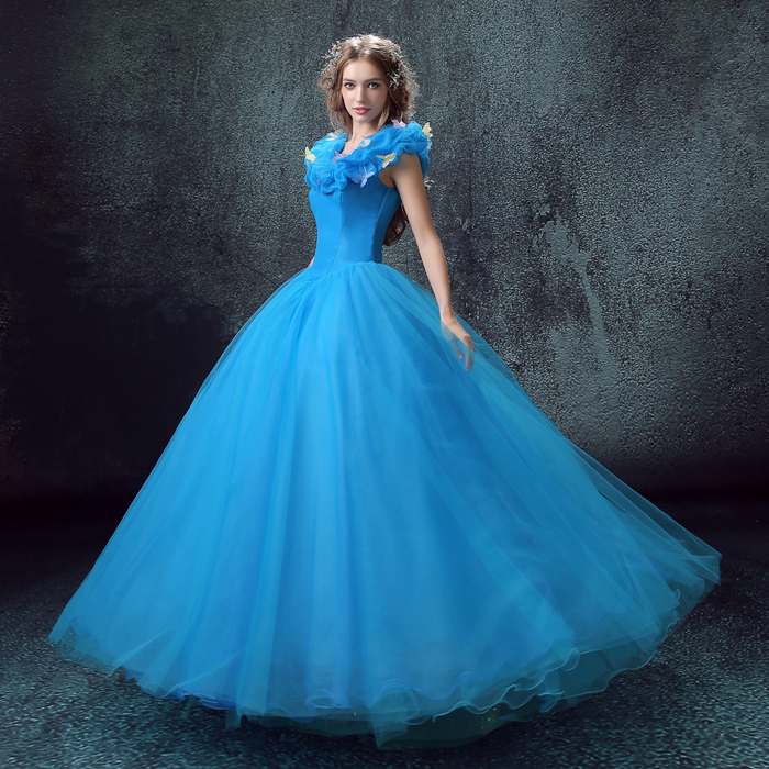 Wedding Gowns Trend Gorgeous Ice Blue | Prom gowns and wedding bridal