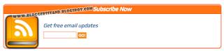 Beautiful Rss Subscription Feed Box Widget