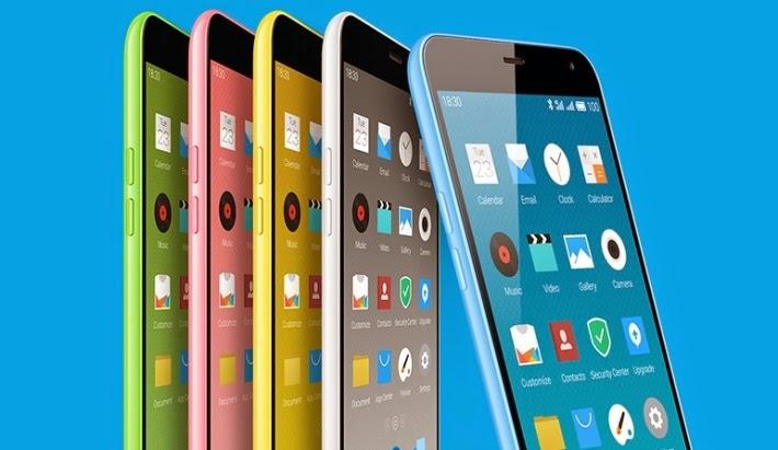 Meizu M1 Note Terbaru, Spesifikasi Gahar HP Octa Core 1.7 GHz Chipset Qualcomm Snapdragon 615