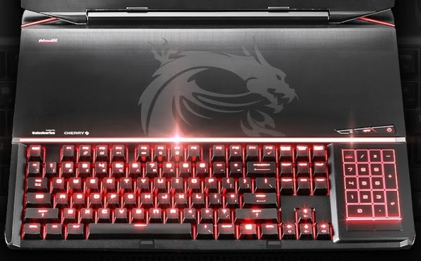MSI GT80 Titan gaming notebook comes with a mechanical keyboard, MSI new GT80 Titan review, GT89 MSI mechanical keyboard, New GT89 release date