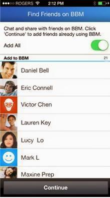 Update BBM For Android Terbaru, Mencari Teman Tanpa PIN