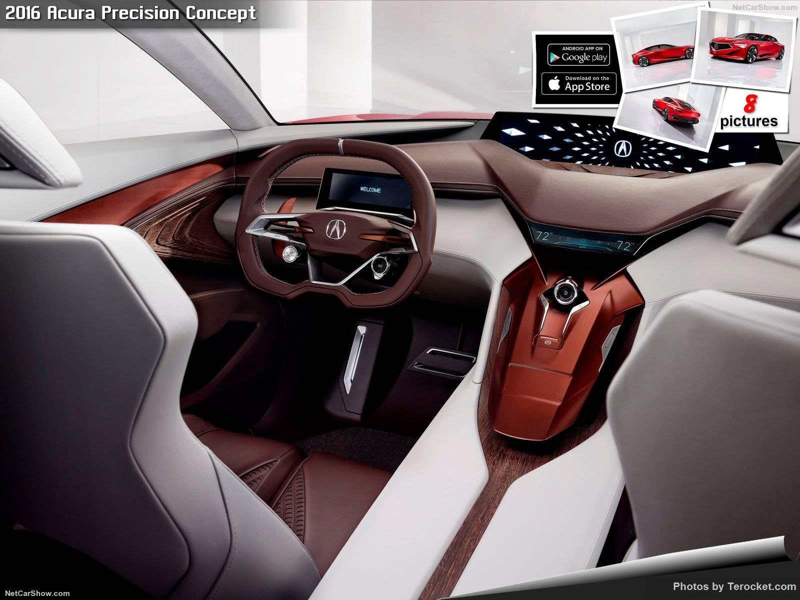 Hình ảnh xe ô tô Acura Precision Concept 2016 & nội ngoại thất