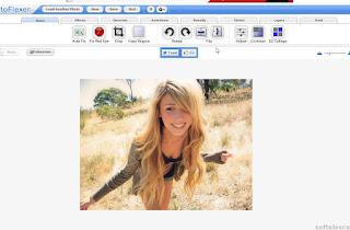 FotoFlexer - start editare