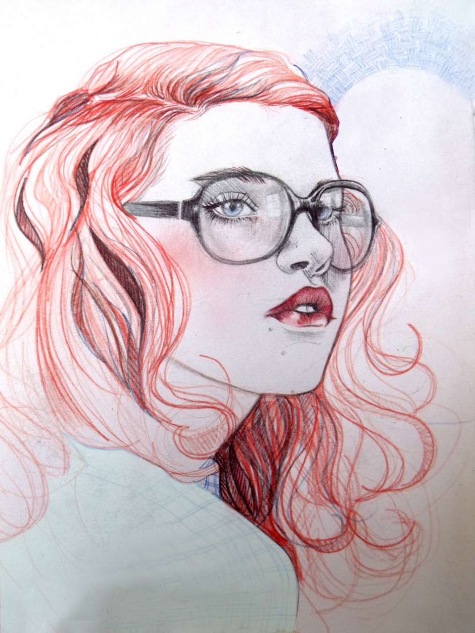 Liz Clemens. Ilustracion.Doctor Ojiplático