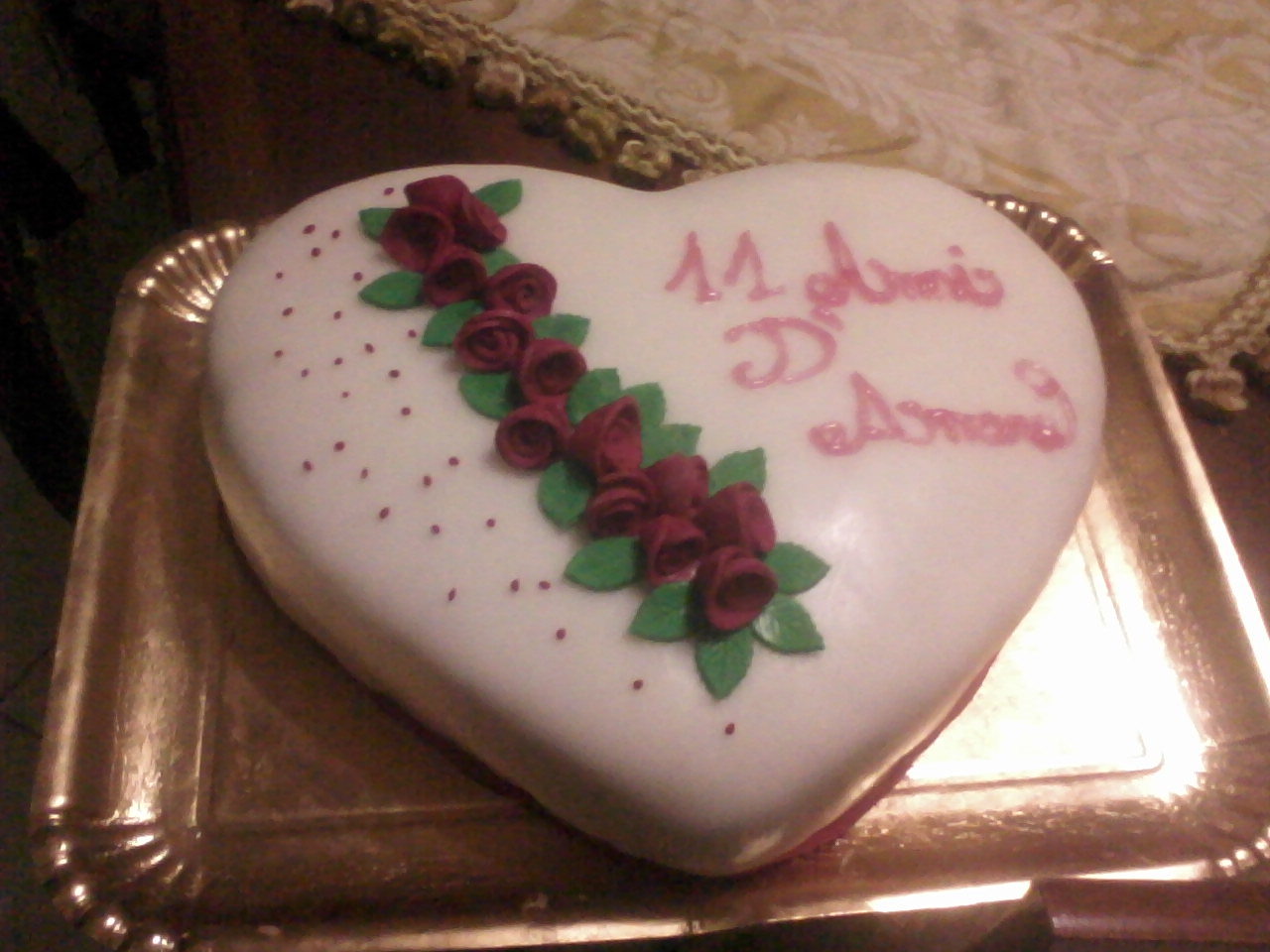 I dolci di anna torta per anniversario di matrimonio for Anniversario di matrimonio