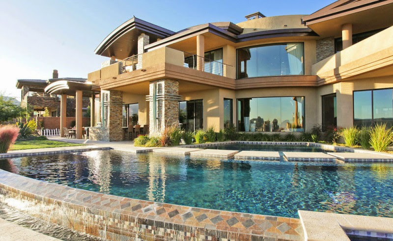 House for rich and creative people home design ideas - Big mansions with pools on the beach ...