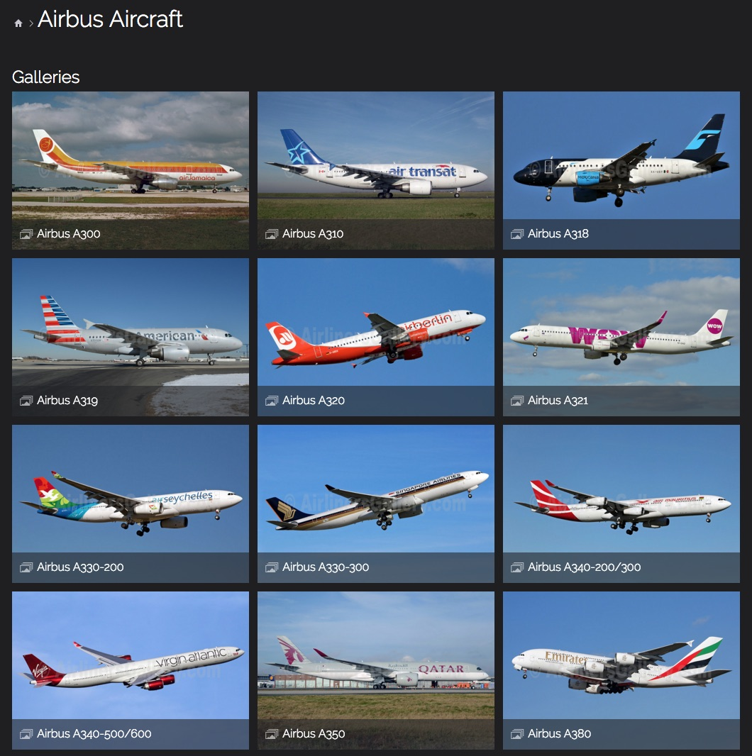 Airbus Aircraft Photos