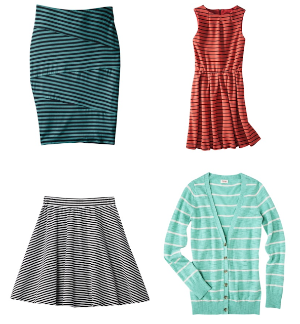 skirt, dress, striped, stripes, target, cardigan
