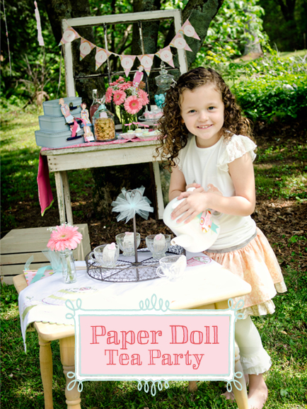 Paper Dolls Tea Party