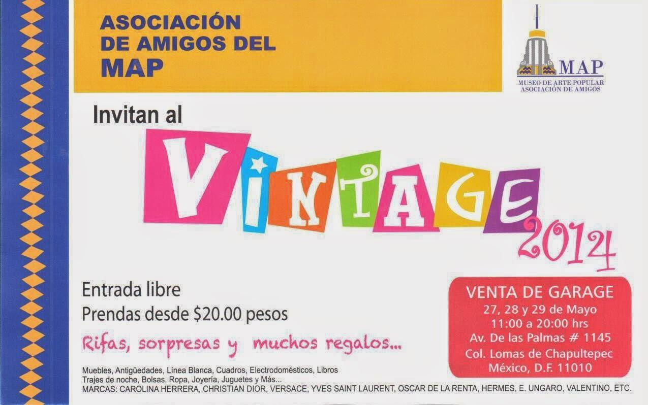 Vintage 2014, la venta de garage del Museo de Arte Popular