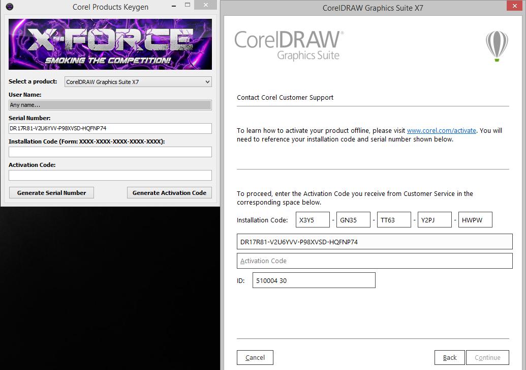 Keygen Corel X5 Windows 7