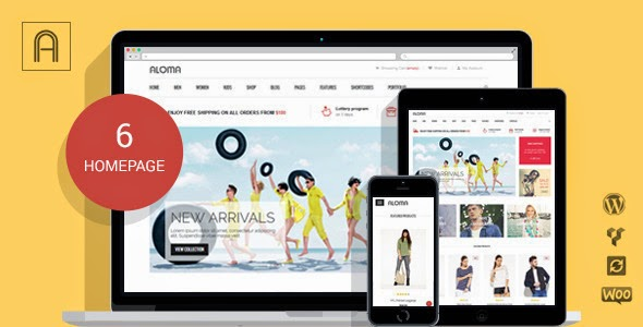 Woo-Commerce WordPress Themes 2014