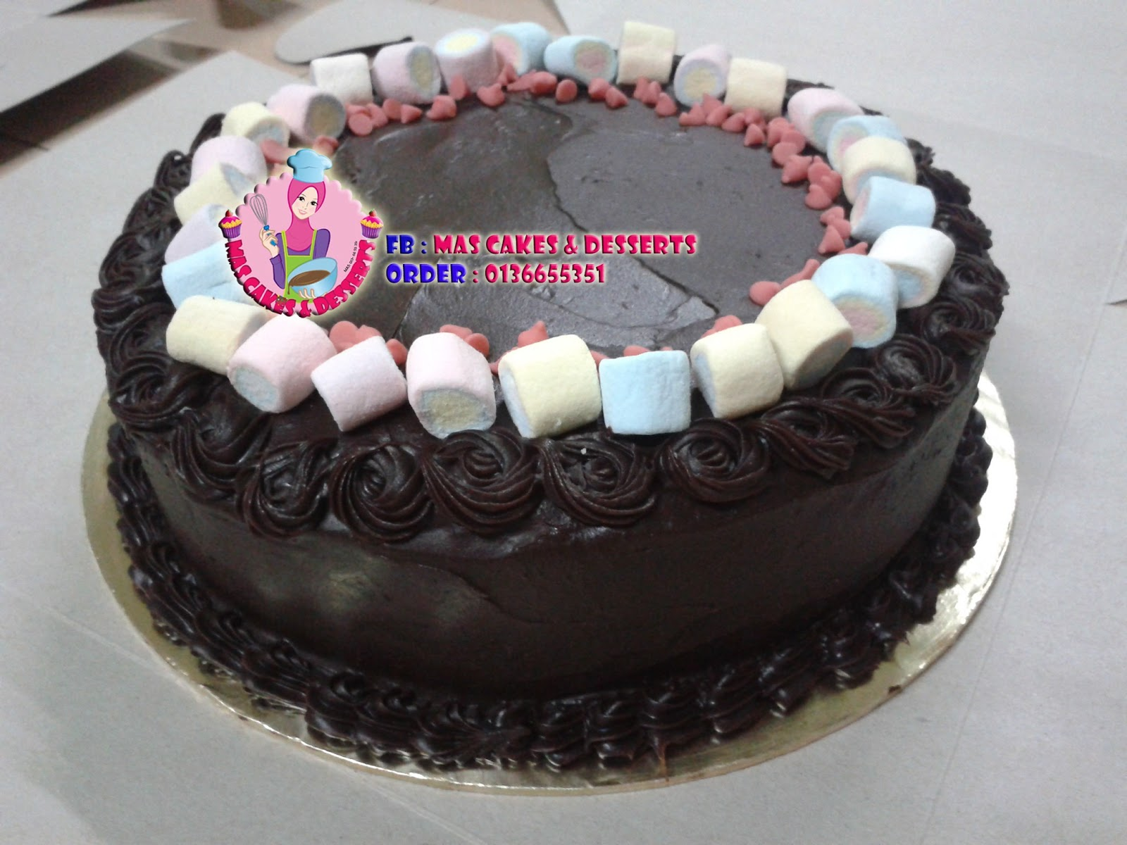 Mas Cakes & Desserts: Moist Rich Chocolate Cake