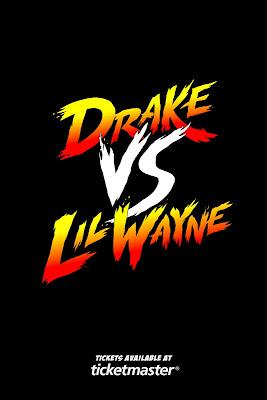 portada poster promocional campcom lil wayne vs drake gira por estados unidos fechas entradas concierto conciertos ciudades