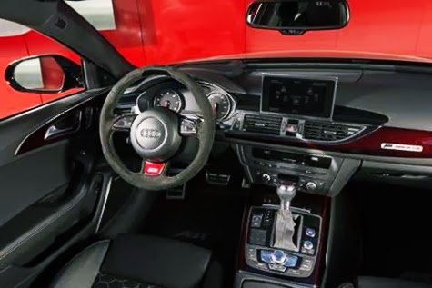 Audi RS6 Avant Dasboard