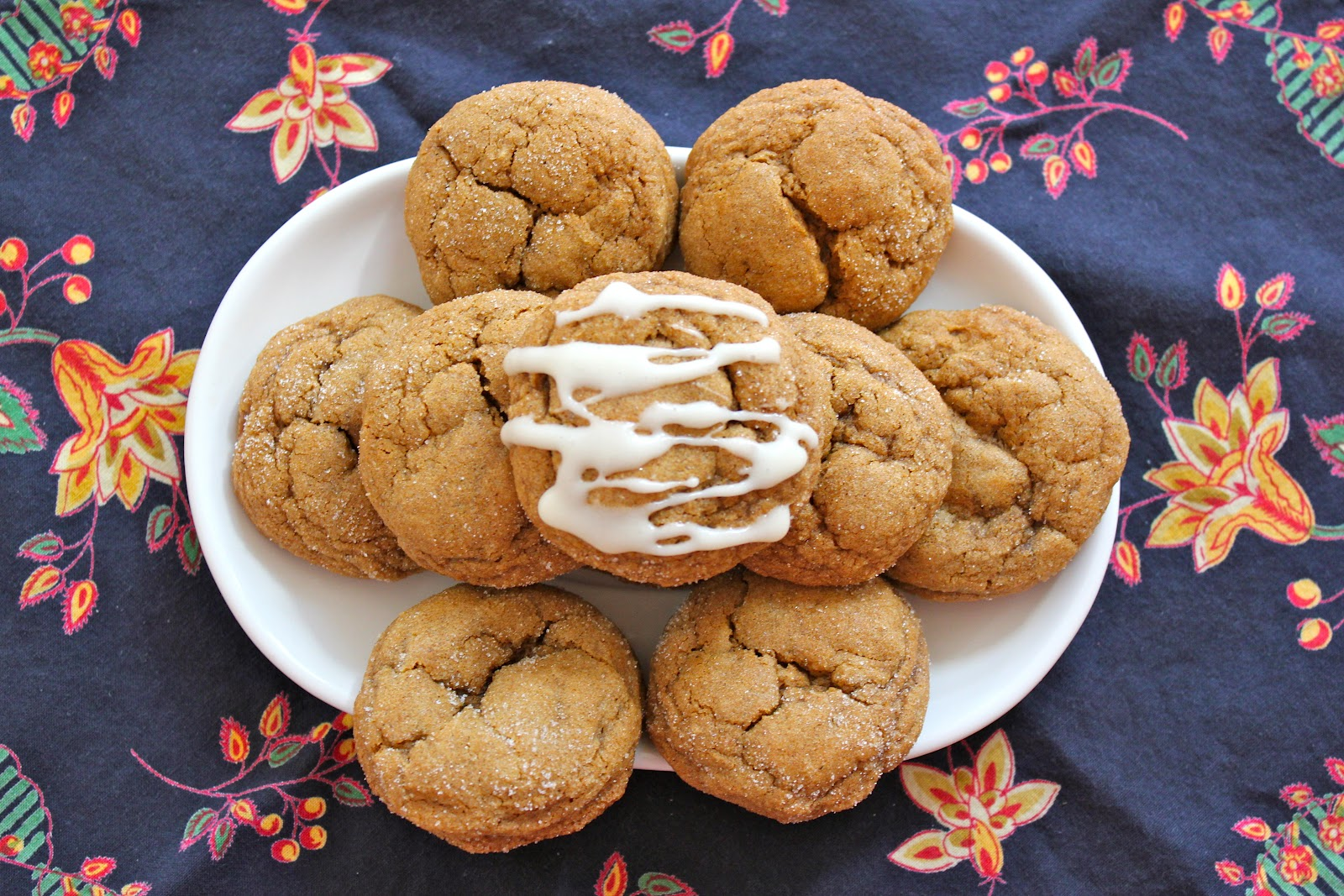 Chelsea's Choice: Pumpkin Gingersnap Cookies with Maple ...