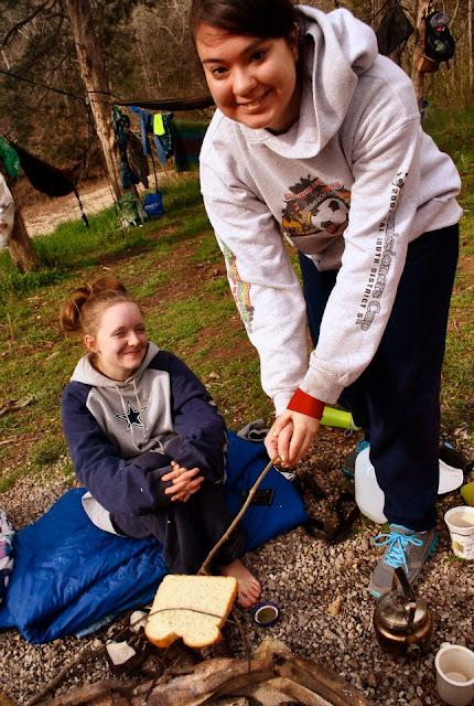 Flashback Summer:  Floor Camping Trip