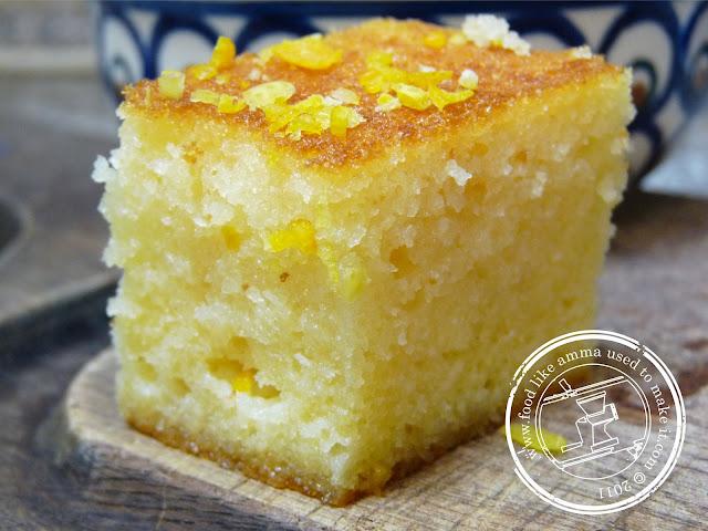 Recipe for turkish semolina cake