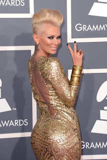 Jenna Jameson's Grammys Dress 2013