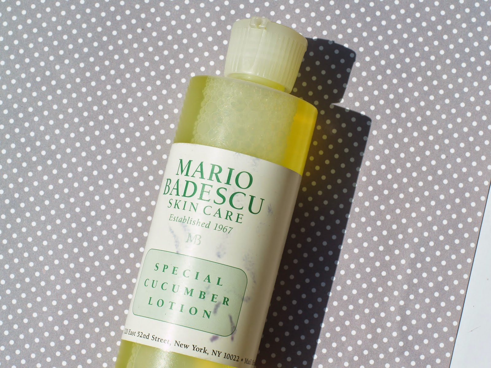Mario Badescu Cucumber Cleansing Lotion Review