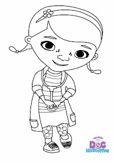 Doc McStuffins Coloring Pages Learn To Coloring