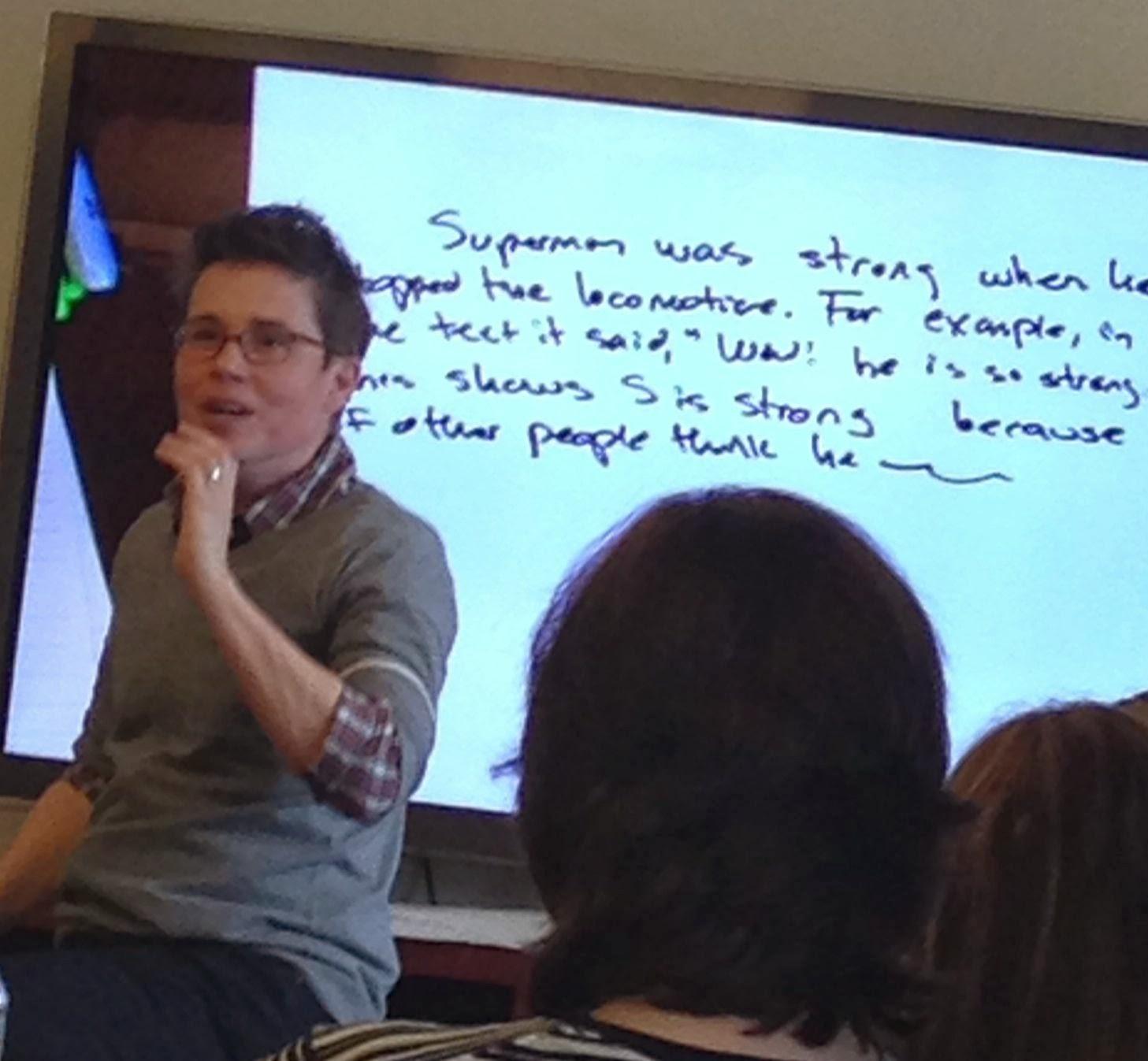 teaching students to write literary essays